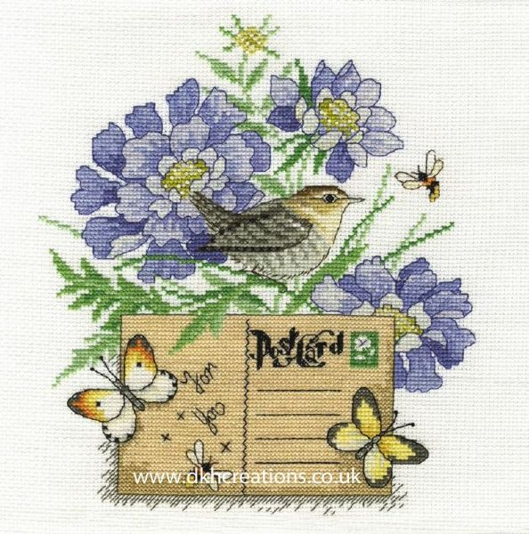 Wren Cross Stitch Kit